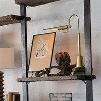Modern Smart Desk Lamp Led Lamp Folding Maison Bed Lamp Home Deco Table Long Arm Lamp Table Lamp for Study Desk Living Room Loft