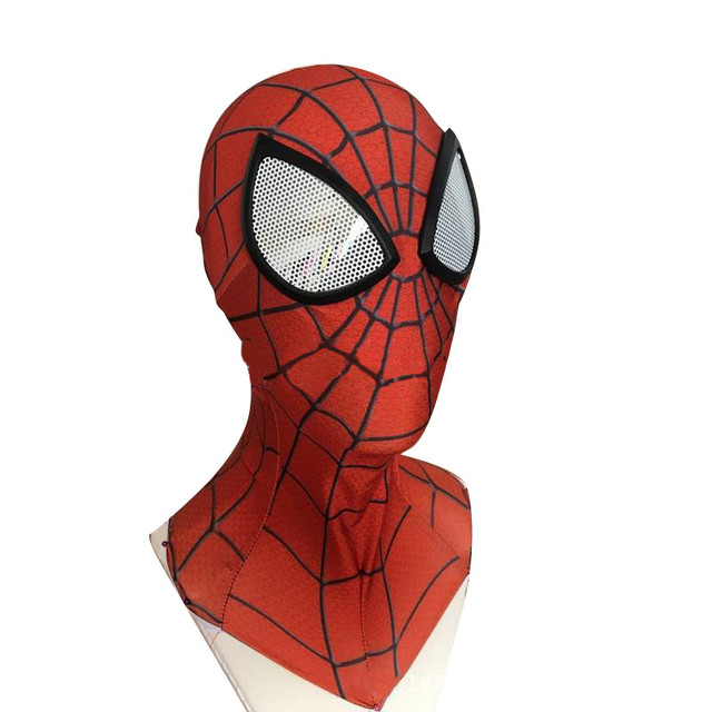 3d num rique imprimer spider man 2 masque super h ros - Masque spiderman a imprimer ...