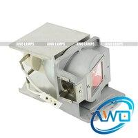Livraison gratuite AWO OPTOMA EW631/EX550ST/EX631 FW5200 lampe de projecteur d'origine P-VIP180W avec boîtier pour OPTOMA FX.PE884-2401