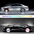 2016  Innovative Colorful Car Colorful 40  LED Wheel Light 1 piecs car-styling Super Cool Programmable 50 Patterns DIY car light