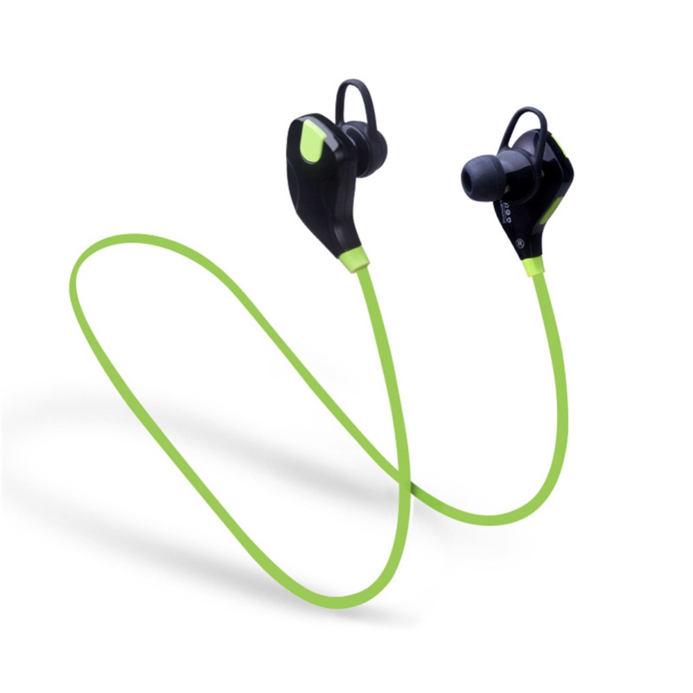 QY7S sports wireless bluetooth 4.1 EDR earphone stereo earphones headset with Mic calls earbuds for iPhone 7 Android Phone