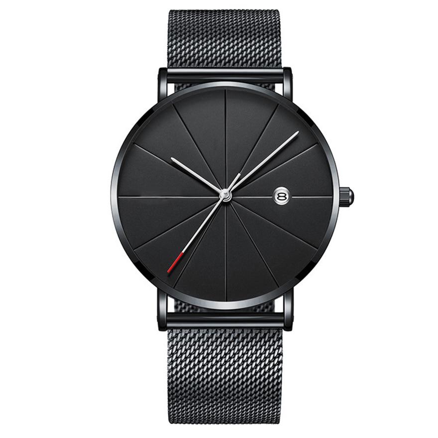 Relogio Masculino Fashion Minimalism Watch Men Brand Luxury Ultra-thin Wristwatch Men's Watch Clock Erkek Kol Saati Reloj Hombre
