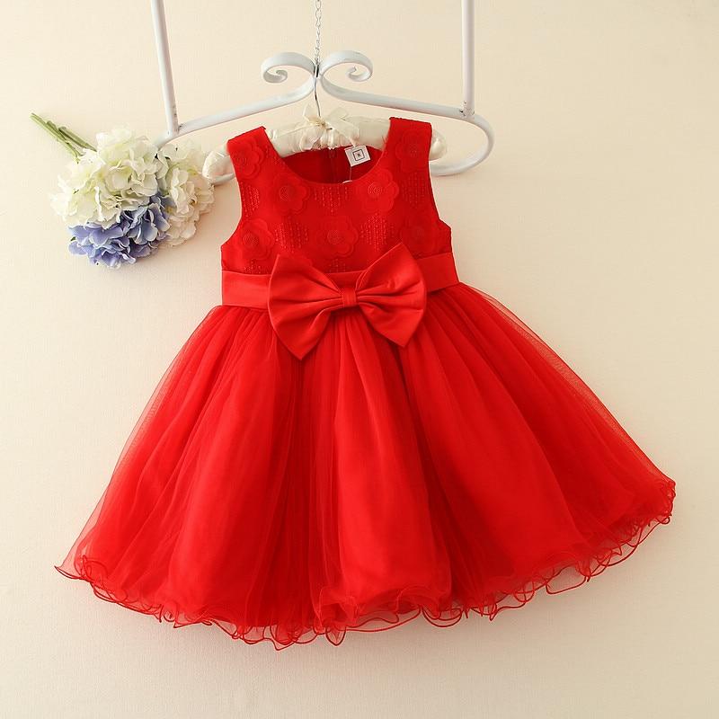 ФОТО 2017 new Costume red show usually wear dress  kids dresses for girls dress