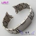 Solid core steel strap all steel bracelet Male 18  20 22 mm general men's and women's watch styles