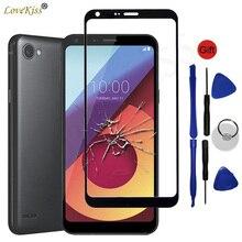 Touchscreen Sul Pannello frontale Per LG Q6 Alpha Q6a M700 M700N M700DSK M700A Sensore di Tocco Dello Schermo di Vetro A CRISTALLI LIQUIDI Display TP Copertura di ricambio