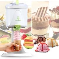 1L Desktop Ice Cream Machine Household Automatic Hard Cone Ice Cream Machine Large Capacity DIY Fruit Ice Cream Maker BL 1000