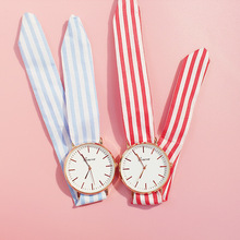2019 New Couple Watch Bow Quartz Casual Watches