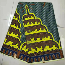 High quality 100% cotton wax fabaric african printed fabric for dress shoe bags KWSH-137