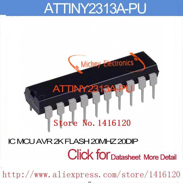Attiny2313a-pu microchip technology | integrated circuits (ics.