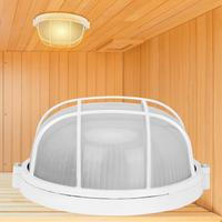 Овальная Взрывозащищенная анти-высокая температура лампа влагостойкая круглая лампа светильник аксессуары для сауны комнаты инструменты