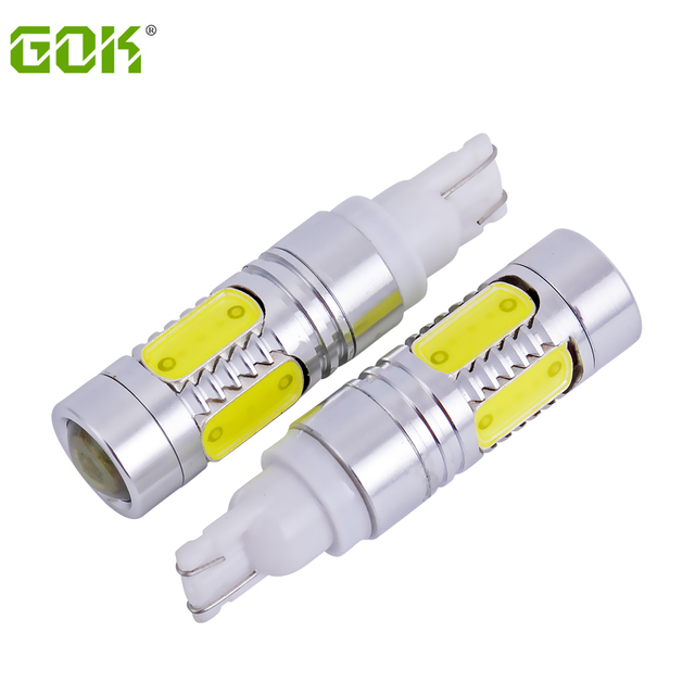 2PCS  High power T10 7.5W LED COB H1 H3 880 881 W5W T10 LED Flood 194 168 Car Auto Wedge Reverse Signal Light LED Car Styling