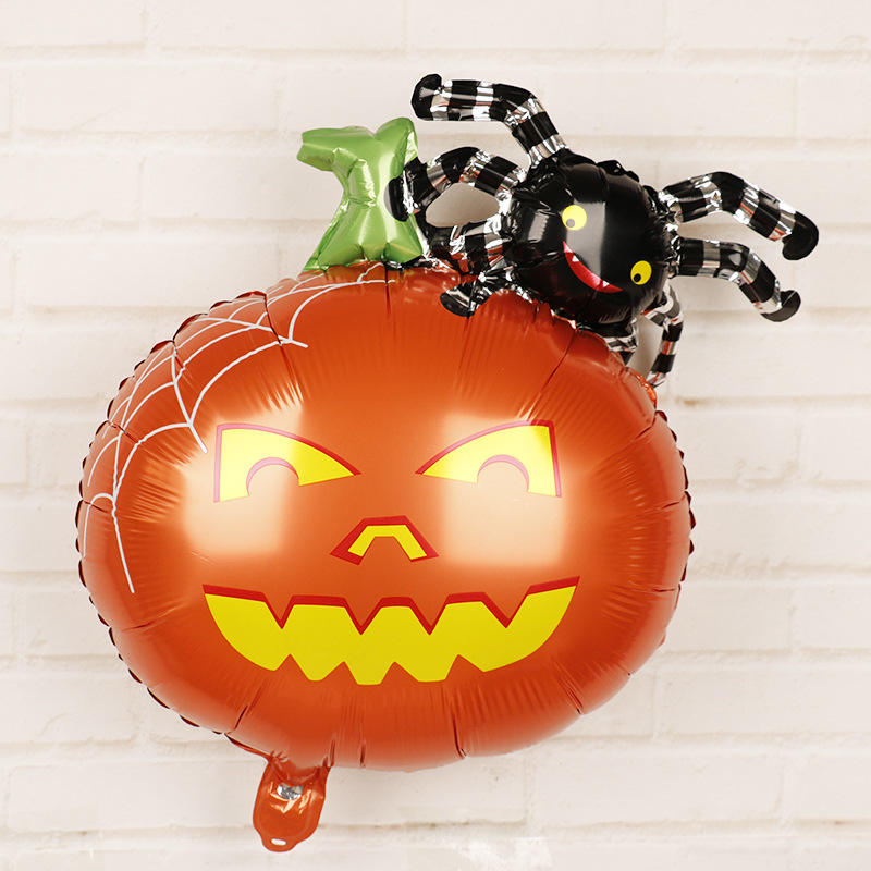 HTB1YYgcaoGF3KVjSZFoq6zmpFXag - Halloween Party Decoration Balloons Halloween Witch Ghost Decoration Kids Favors Halloween Props Accessories Party Supplies