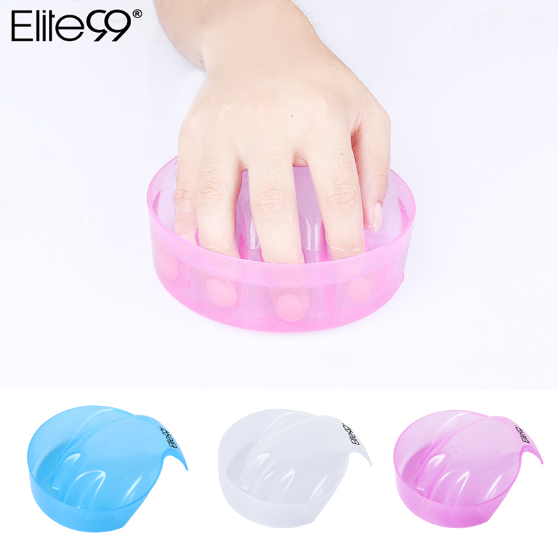 Elite99 1pcs Nail Art Hand Wash Remover Soak Bowl DIY Salon Nail Spa Bath Treatment Manicure Tools
