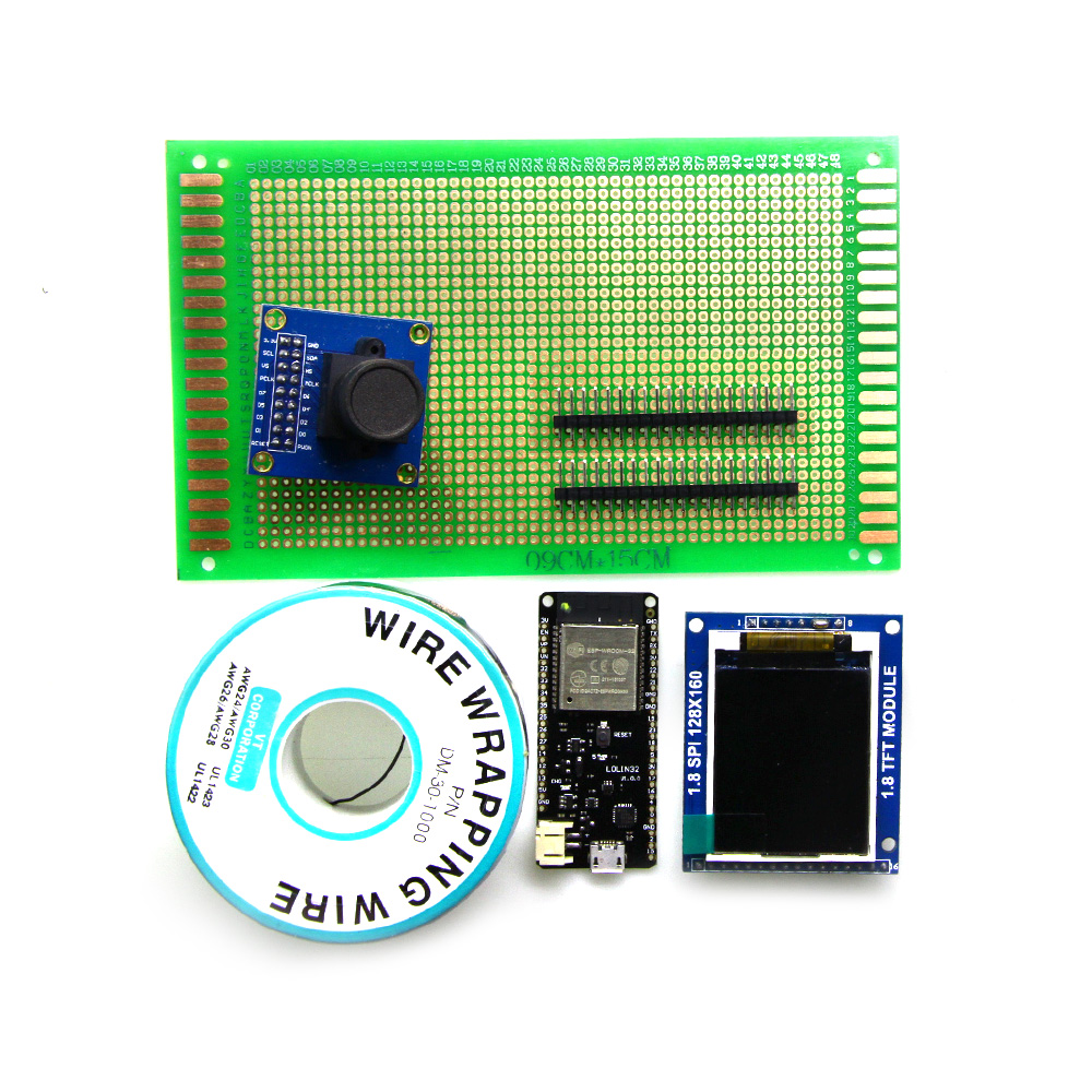 Camera OV7670-1.8 TFT display Module ESP32 development board KIT xilinx fpga development board xilinx spartan 3e xc3s250e evaluation board kit lcd1602 lcd12864 12 modules open3s250e package b