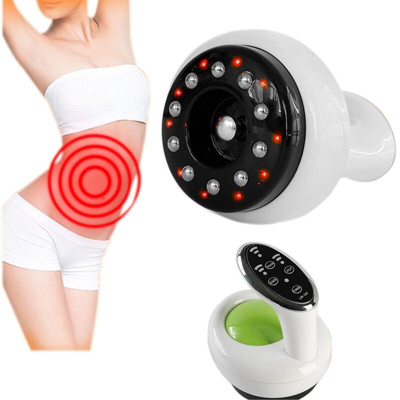 NIEUWE Guasha Vacuum Body Massager Cupping Therapie Lichaam Detox Machine EMS Stimulatie Apparaat Thermische Therapie Back Massage-in Massage & Ontspanning van Schoonheid op  Groep 1