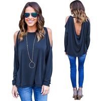 New T Shirt Women Off Shoulder solid Full Summer fashion casual Top T-Shirt maternity