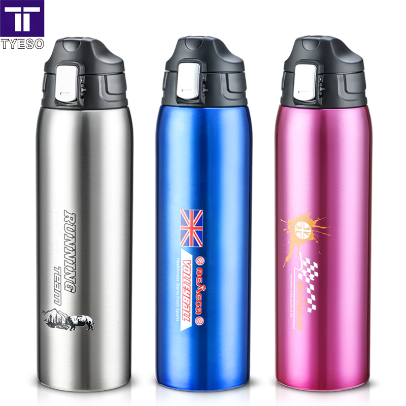 1000ml thermos Stainless Steel thermo bottle safe lock thermoses vaccum bottle with portable bag big capacity for travel picnic