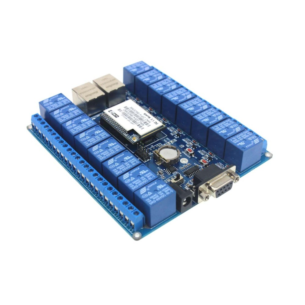 Q14078 HLK-SW16 16 Channel Android/Smart Phone CWiFi Relay /WiFi Relay Module
