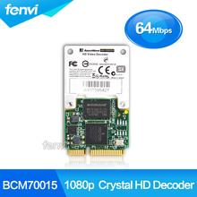 Tarjeta HD 1080 p Broadcom Crystal HD decodificador BCM70015 BCM970015 HD Crystal Decoder Hardware Mini PCI-E adaptador nuevo