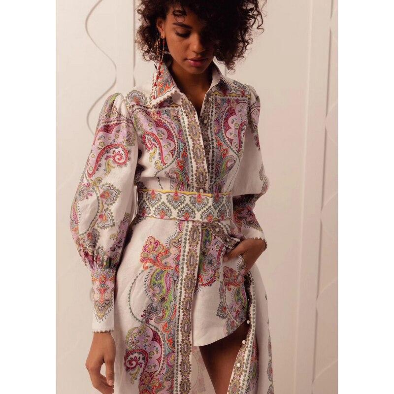 Nuovo 19 zingara BOHO vento con il disegno e il colore del vestito spaccato-in Completi da donna da Abbigliamento da donna su  Gruppo 2
