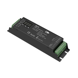 D4-E D4-P D4-XE 4 kanałowy PWM stałe napięcie dekoder dmx z cyfrowym wyświetlaczem XLR3 i RJ45 port DC12-36V wejście; 8A * 4CH