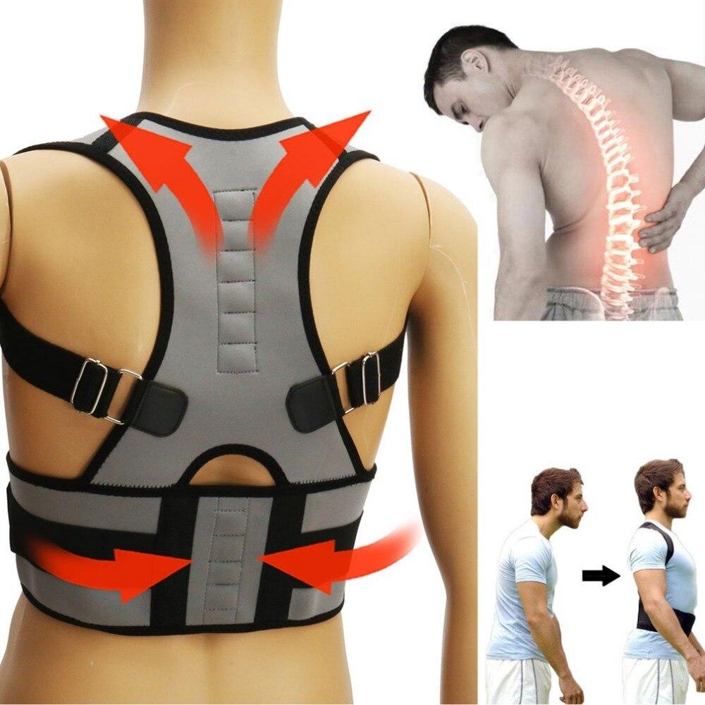 Adjustable Posture Corrector All-In-One Back Support Shoulder Lumbar Brace Belt Strap Universal for Men Women Health Care