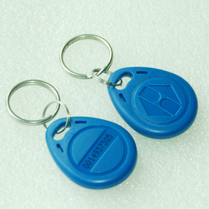 Image 4 - 125KHz Blue color RFID  Key Fob for Access Control System EM4100/TK4100 ID keycard read only waterproof (pack of 100)
