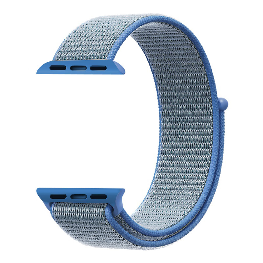 latest upgrade Woven Nylon Watchband straps for iWatch Apple Watch sport loop bracelet fabric band 38mm 42mm series 1 2 3 in Watchbands from Watches