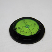 Round Spirit Levels Crane horizontal bubble Level Measuring Instrument level bubble Size 80*62*15mm 1 order wheels go round level 1