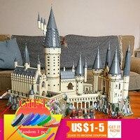Шт. 6742 16060 шт. Гарри Magic Potter Хогвартс замок школа Совместимость с 71043 здания Конструкторы кирпичи развивающие игрушки модель