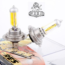 5pair/lot  Light Bulbs 3000K Halogen Xenon H7 12V 55W Golden Yellow Fog free shipping