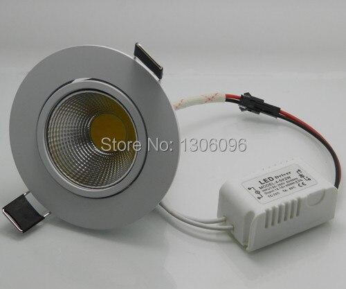 5 Вт 10 Вт затемнения Высокое качество, высокая мощность удара потолочные встраиваемые светодиодные фары, светодиодные светильники, бесплат...