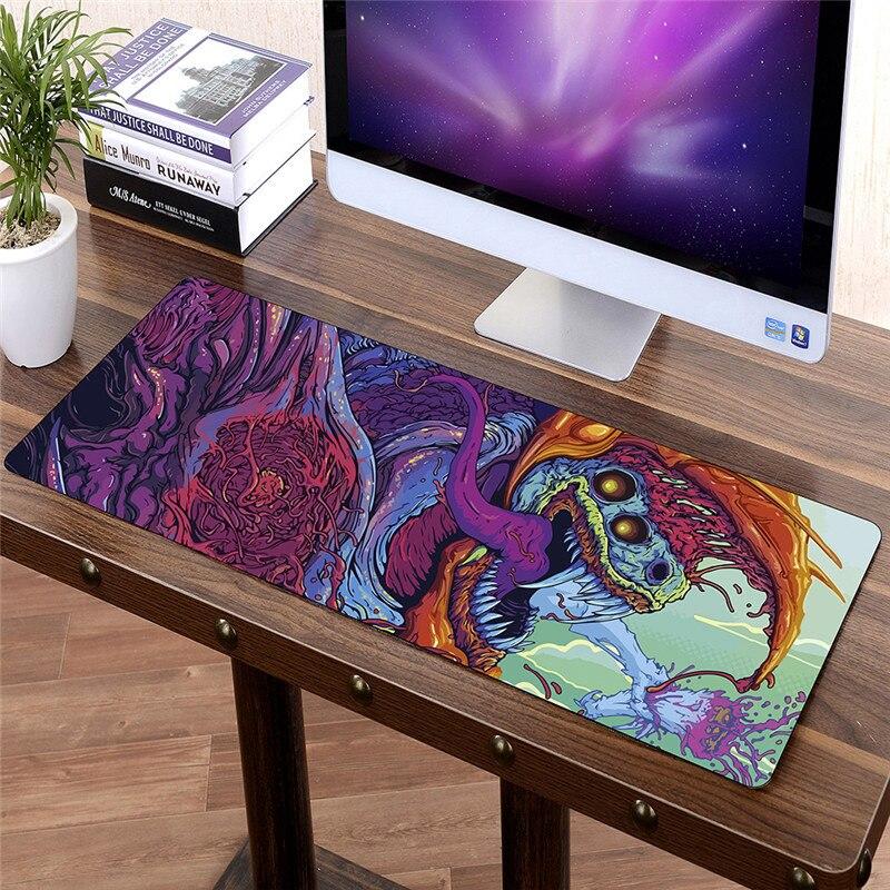 FFFAS 80x30 cm Grande FAI DA TE Personalizzati Mouse pad Mouse Gamer Tastiera Mat XL Della Protezione Della Tabella Morbido Gaming Mousepad per Tablet PC Latop Hot
