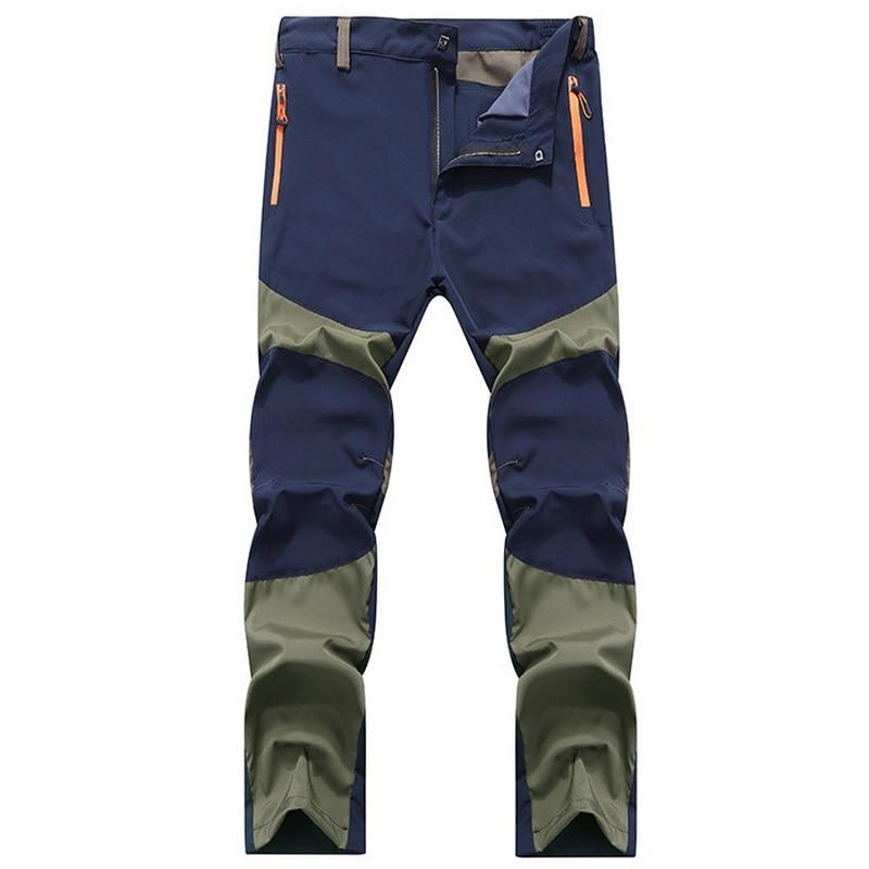 2018 Sommar Ultra Tunna Män Casual Byxor Army Grön Mäns Andas - Herrkläder - Foto 2