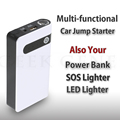 HOT!! 2017 Latest 12V Multi-Function Car Jump Starter Mini USB Power Bank SOS Light 600A Peak Car Battery Charger +SOS Free Ship