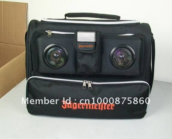Jagermeister Cooler Bag With Speakers In Cooler Bags From Luggage