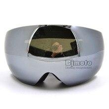 MG-018A-BK Outdoor Brand Snowboard Goggles Double Lens Anti Fog Big Spherical Ski Glasses Winter Snow Sport Motocross Eyewear