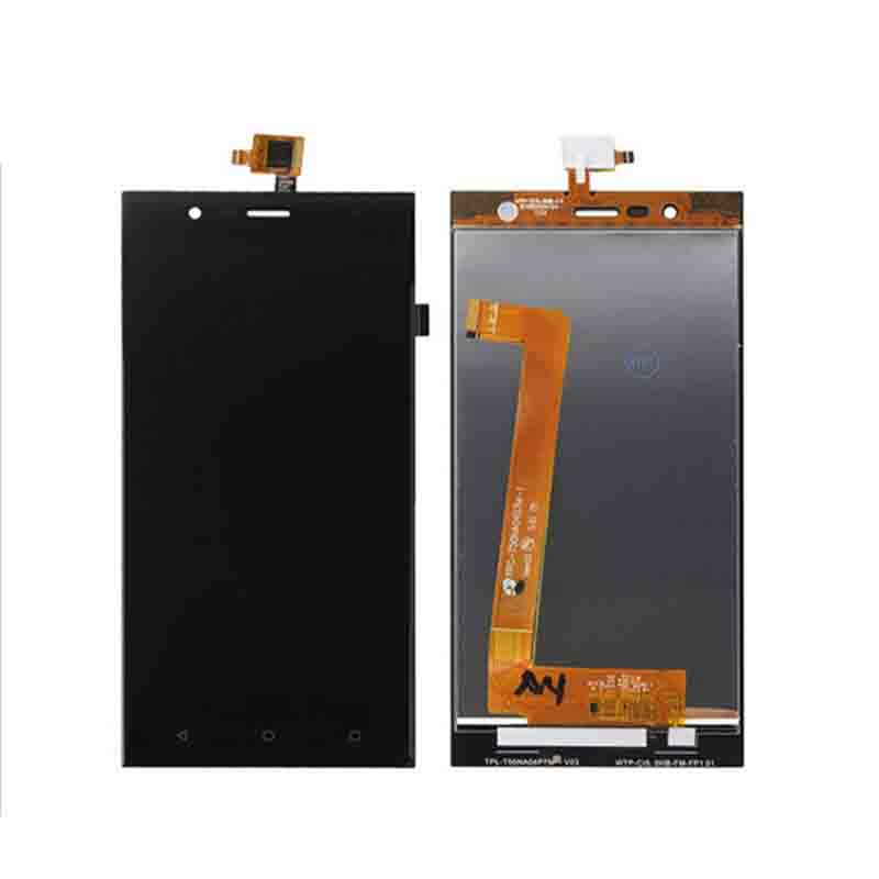 New Touch Panel For Highscreen Boost 3 Black Front Touch Screen LCD Display Digitizer Glass Sensor