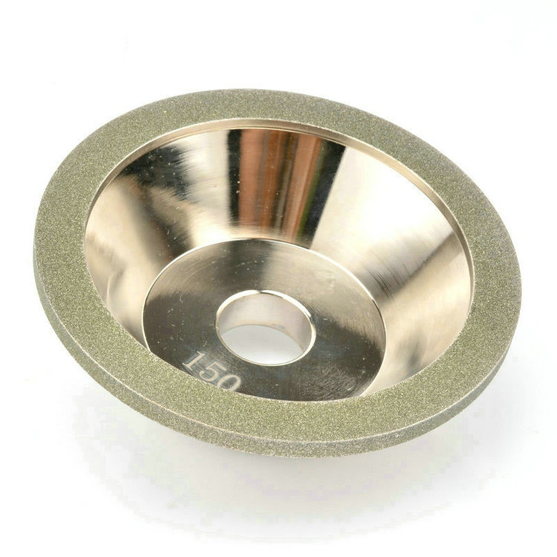 Abrasive Polishing Disc for Metals Fragile Non-metal Grinding Wheel Buffing Disk for Optical Glass Porcelain Ferrite Jewels Gems fiber polishing buffing wheel grit nylon abrasive 25mm thickness 7p hardness 32mm id