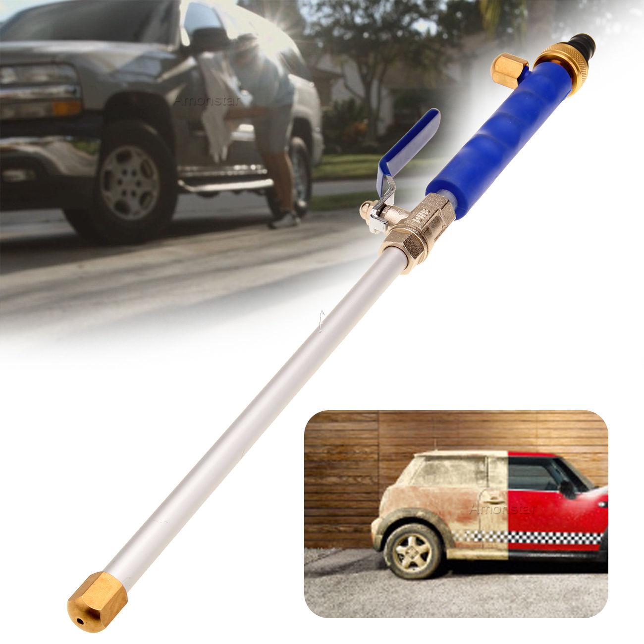 High Pressure Car Power Washer Spray Nozzle Water Hose Wand Attachment Garden