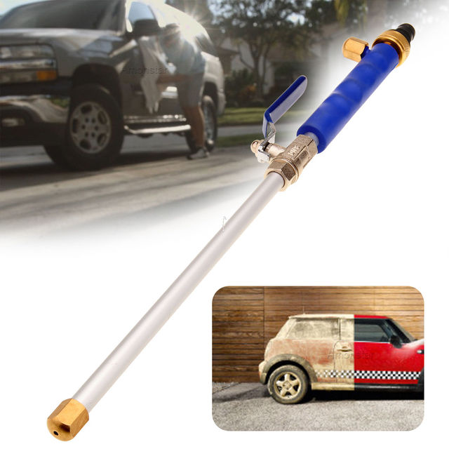 High Pressure Car Power Washer Spray Nozzle Water Hose Wand Attachment  Garden