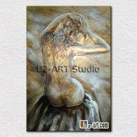 再現ヌード女性絵画キャンバス油彩画寝室壁の装飾ホット ホーム良い製