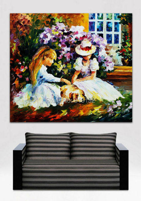Aliexpress.com : buy palette knife painting sweet time with ...
