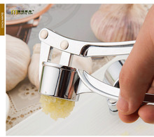 1PC Longming Home Alloy garlic clip manually garlic press food grinder jam pressure control fruit salad garlic press KX 132