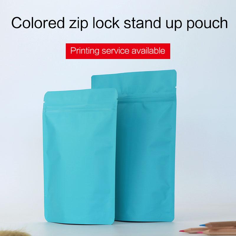 ماتي الأزرق الوقوف الحقيبة مع سحاب - التنظيم والتخزين في المنزل