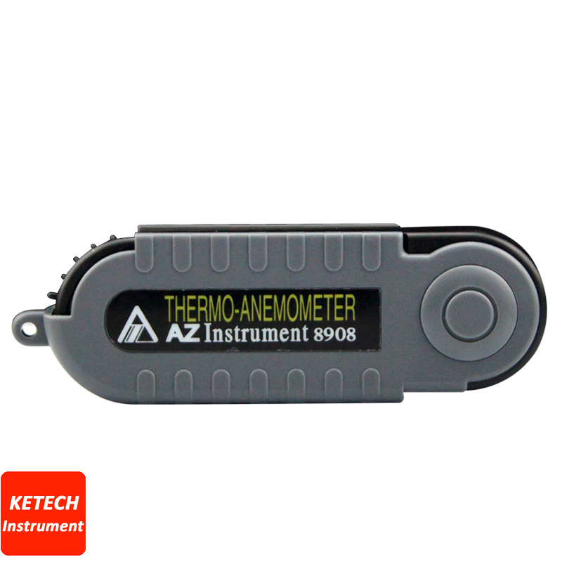 Pocket Wind Speed Meter Digital Anemometer AZ8908