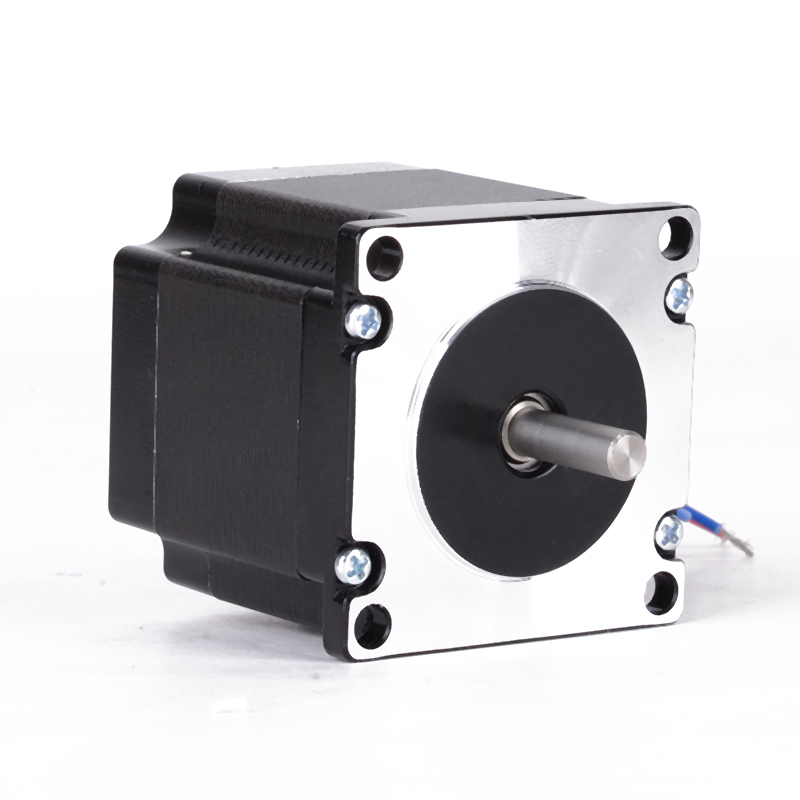 1pc 24V Single Shaft Nema 23 Stepper Motor 1.8Degree 56mm 4 Leads Wire Engraving Machine Motors 1 pc single shaft of nema34 stepper motor 1215oz in 4 2a 118mm 8 leads bipolar connection for engraving milling machine