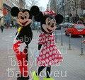 New Adult Size Professional Minnie Mouse Mascot Cartoon Mascot Costume Fancy Dress Free Shipping