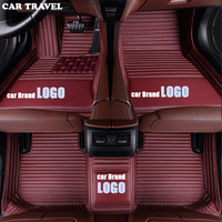 CAR TRAVEL car floor mat for Renault LOGO Renault Koleos Megane LAGUNA Latitude FLUENCE Scenic Captur Talisman Espace Floor Mats
