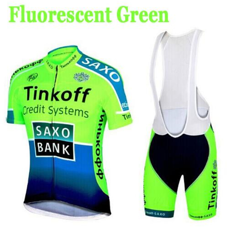 SaxoBank Tinkoff Short sleeve Cycling jersey Maillot Ciclismo Cycling Clothing ropa ciclismo Sports Clothing